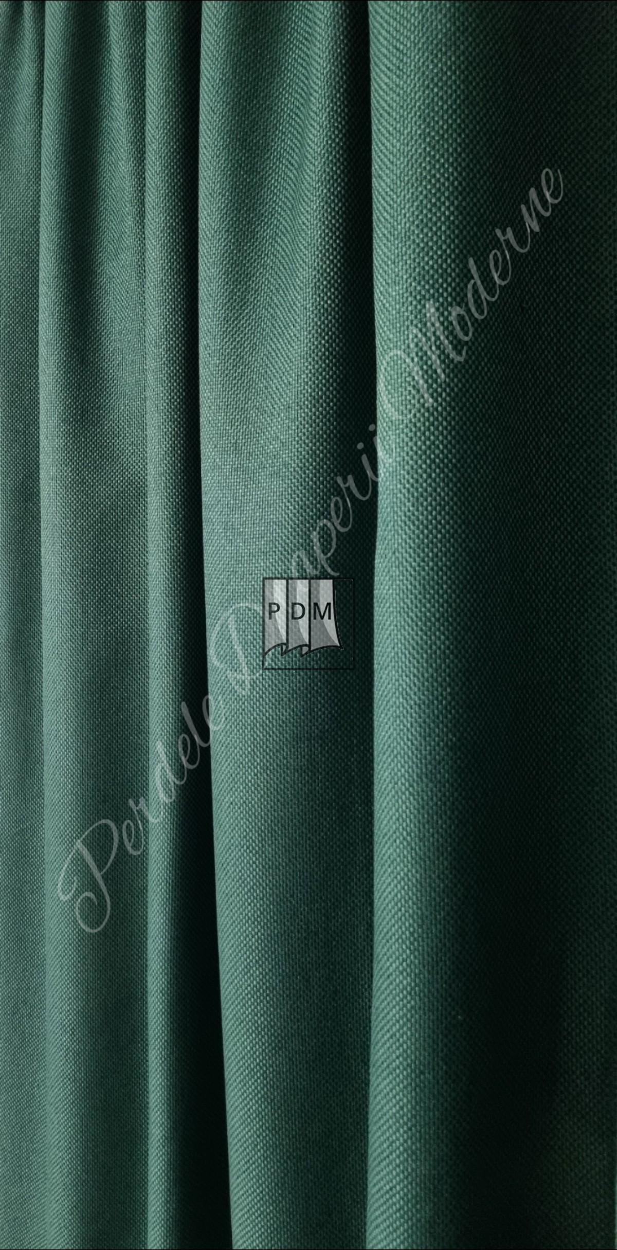 Draperie in blackout,verde smarald imagine 4